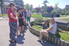 Besuch LFS Giesshübl Malteser Kinderhilfe MKH Hilde Umdasch Haus HUH