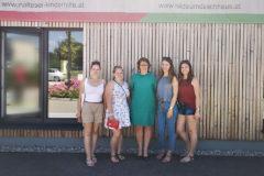 Besuch Schüler der HLW Steyr Veranstaltung Malteser Kinderhilfe Hilde Umdasch Haus MKH HUH