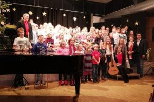 Musikschule Neuhofen Weihnachtskonzert Veranstaltung Malteser Kinderhilfe HUH MKH