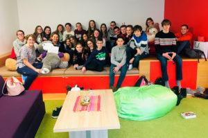 Malteser Kinderhilfe Besuch 3c Stiftsgymnasium Melk Hilde Umdasch Haus MKH HUH