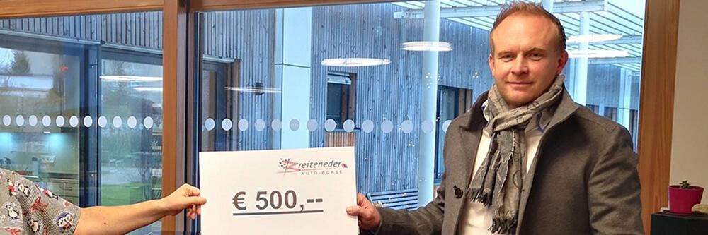 Malteser Kinderhilfe Nikolaus Spendenscheck BB