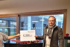 Malteser Kinderhilfe Nikolaus Spendenscheck 1