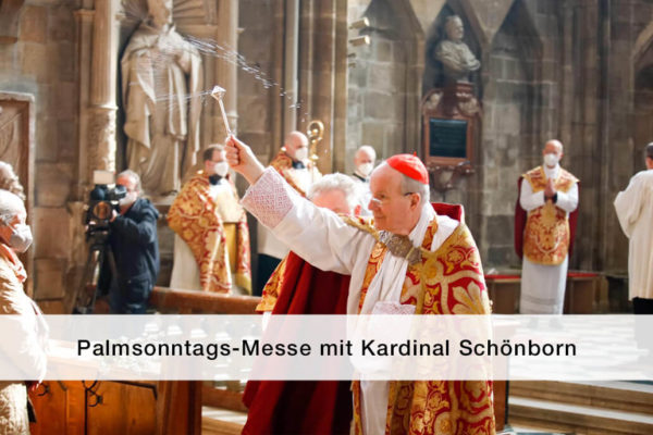 Titelbild Palmsonntagsmesse Kardinal Schoenborn 2021
